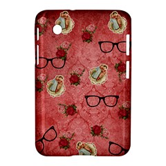 Vintage Glasses Rose Samsung Galaxy Tab 2 (7 ) P3100 Hardshell Case