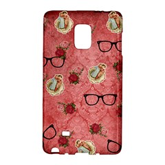 Vintage Glasses Rose Galaxy Note Edge