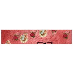 Vintage Glasses Rose Small Flano Scarf