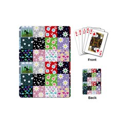Dino Quilt Playing Cards (mini)