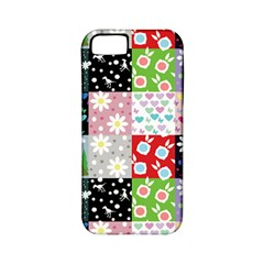Dino Quilt Apple Iphone 5 Classic Hardshell Case (pc+silicone)