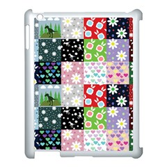 Dino Quilt Apple Ipad 3/4 Case (white)