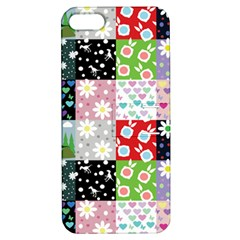 Dino Quilt Apple Iphone 5 Hardshell Case With Stand