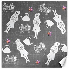 Chalkboard Kids Canvas 20  X 20