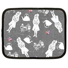 Chalkboard Kids Netbook Case (large)