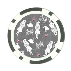 Chalkboard Kids Poker Chip Card Guard (10 Pack)