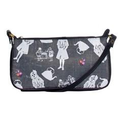 Chalkboard Kids Shoulder Clutch Bags