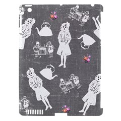 Chalkboard Kids Apple Ipad 3/4 Hardshell Case (compatible With Smart Cover)