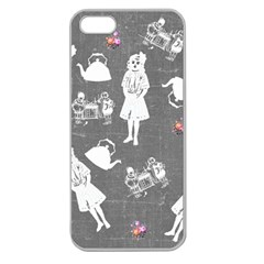 Chalkboard Kids Apple Seamless Iphone 5 Case (clear)
