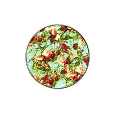 Fruit Blossom Hat Clip Ball Marker (4 Pack)