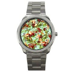 Fruit Blossom Sport Metal Watch