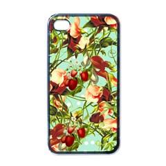 Fruit Blossom Apple Iphone 4 Case (black)