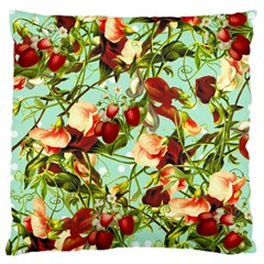 Fruit Blossom Large Cushion Case (one Side)