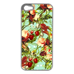 Fruit Blossom Apple Iphone 5 Case (silver)