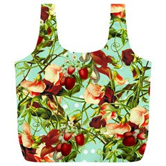 Fruit Blossom Full Print Recycle Bags (l)