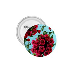 Roses Blue 1 75  Buttons