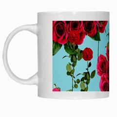 Roses Blue White Mugs