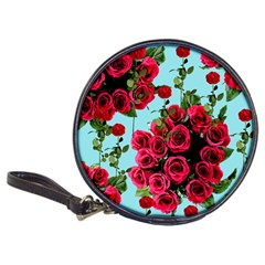 Roses Blue Classic 20 Cd Wallets