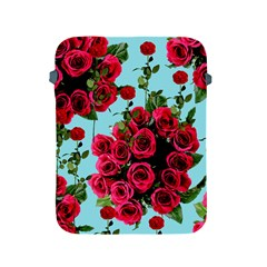 Roses Blue Apple Ipad 2/3/4 Protective Soft Cases