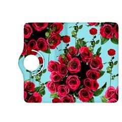 Roses Blue Kindle Fire Hdx 8 9  Flip 360 Case