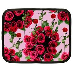 Roses Pink Netbook Case (xl)