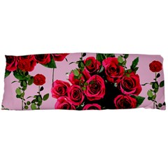 Roses Pink Body Pillow Case Dakimakura (two Sides)