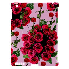 Roses Pink Apple Ipad 3/4 Hardshell Case (compatible With Smart Cover)