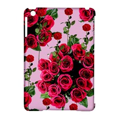 Roses Pink Apple Ipad Mini Hardshell Case (compatible With Smart Cover)