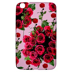 Roses Pink Samsung Galaxy Tab 3 (8 ) T3100 Hardshell Case