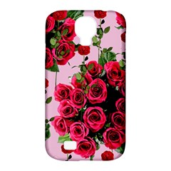 Roses Pink Samsung Galaxy S4 Classic Hardshell Case (pc+silicone)