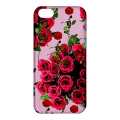 Roses Pink Apple Iphone 5c Hardshell Case