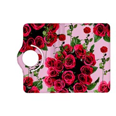 Roses Pink Kindle Fire Hd (2013) Flip 360 Case