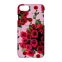 Roses Pink Apple Iphone 7 Hardshell Case