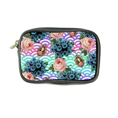 Floral Waves Coin Purse