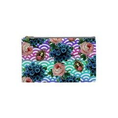 Floral Waves Cosmetic Bag (small)
