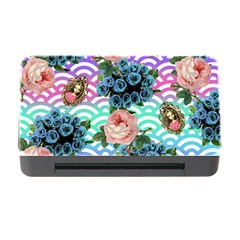 Floral Waves Memory Card Reader With Cf