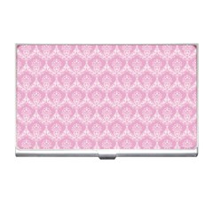 Damask Pink Business Card Holders