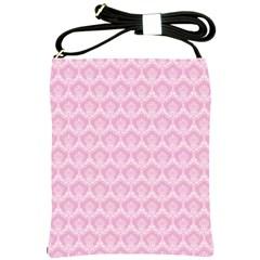 Damask Pink Shoulder Sling Bags