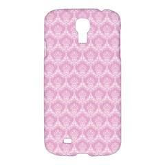 Damask Pink Samsung Galaxy S4 I9500/i9505 Hardshell Case