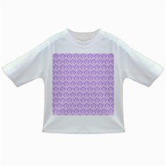 Damask Lilac Infant/toddler T Shirts