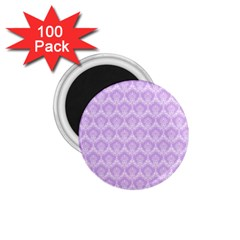 Damask Lilac 1 75  Magnets (100 Pack)