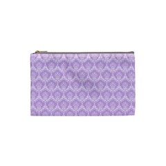 Damask Lilac Cosmetic Bag (small)
