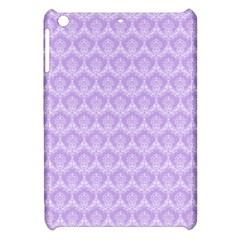 Damask Lilac Apple Ipad Mini Hardshell Case
