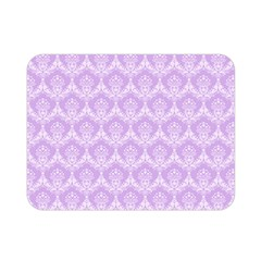 Damask Lilac Double Sided Flano Blanket (mini)