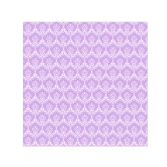 Damask Lilac Small Satin Scarf (square)