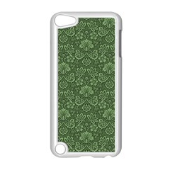 Damask Green Apple Ipod Touch 5 Case (white)