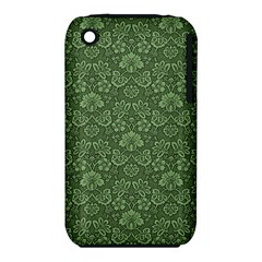 Damask Green Iphone 3s/3gs