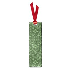 Damask Green Small Book Marks