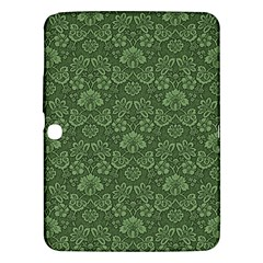 Damask Green Samsung Galaxy Tab 3 (10 1 ) P5200 Hardshell Case