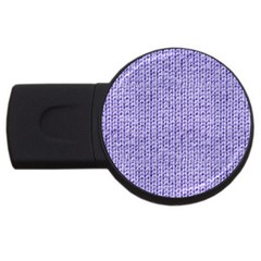 Knitted Wool Lilac Usb Flash Drive Round (4 Gb)